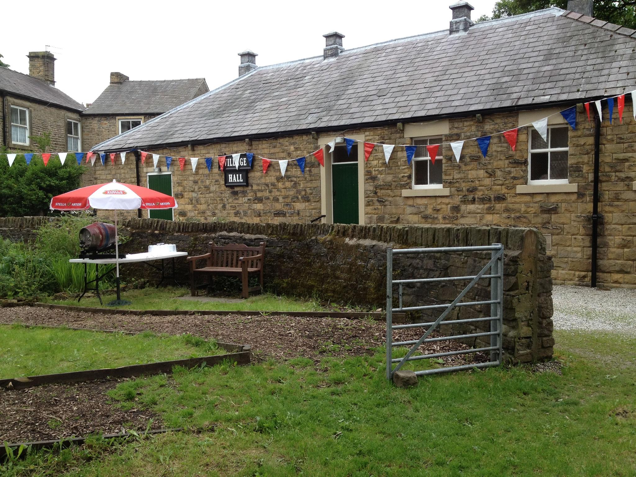 Hayfield Village Hall exterior 2